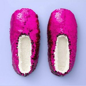 Girls Flipo Sequin Slipper Socks More Than Magic
